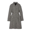 HOUND'S TOOTH CHECK COAT (IVORY)