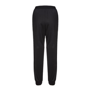 JOGGING WITH ROSE LACE ON THE SIDES PANTS (BLACK)