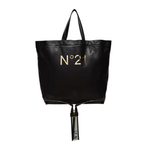 BIG FOLDABLE SHOPPER BAG (BLACK)
