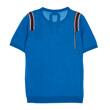 CELEB'S PICK★ ROUND NECK KNIT A007 (BLUE)