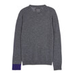 ROUND NECK KNIT A050 (DARK GREY)