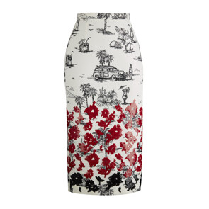 ★CELEB'S PICK★ SKIRT C011(WHITE)