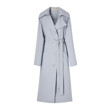 CELEB'S PICK★ DOUBLE FACE WOOL COAT (GREYISH BLUE)
