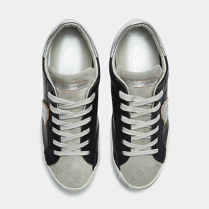 CELEB'S PICK★ PARIS - MIXAGE BLANC GRIS SNEAKERS (BLACK)