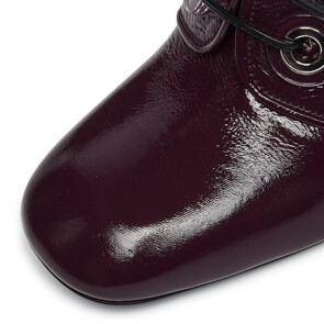 ★CELEB'S PICK★NAPLACK MELANZANA SHOES (BURGUNDY)